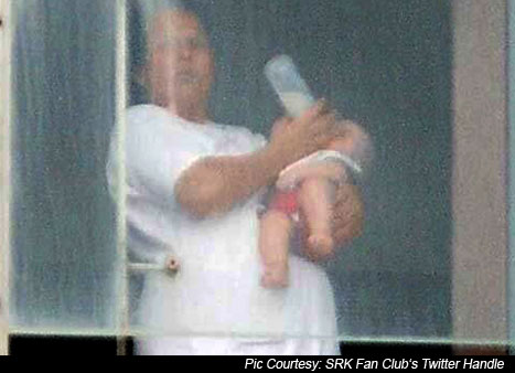 SRK's Son AbRam Caught In Camera