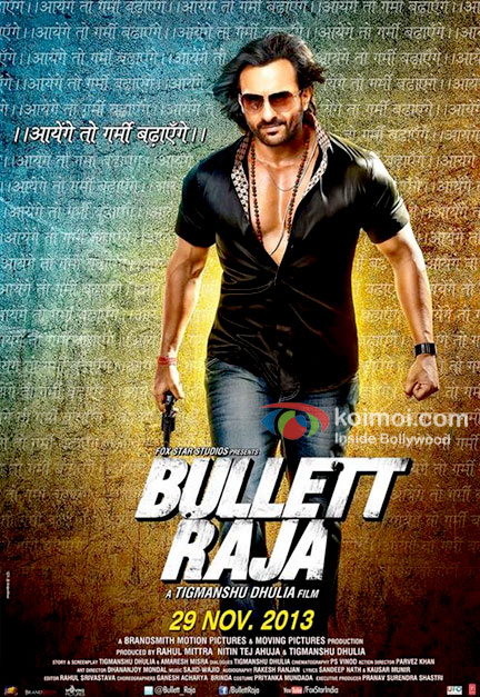 Saif Ali Khan in Bullett Raja New Movie Poster