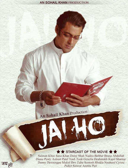 Salman Khan in Jai Ho Fake Movie Poster