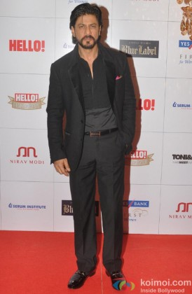 Shah Rukh Khan during the Hello Hall of Fame Awards 2013
