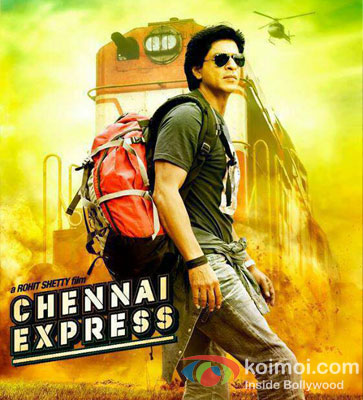 Shah Rukh Khan in Chennai Express Movie Poster