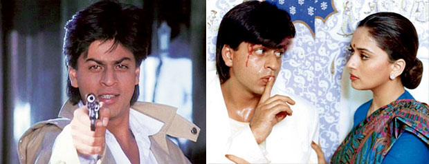 Shah Rukh Khan in Darr And Anjaam Movie Stills