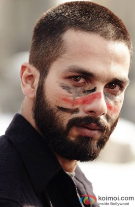 Shahid Kapoor In A Still From Haider