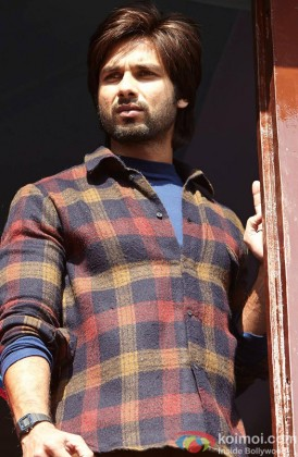 Shahid Kapoor In A Still From His Film