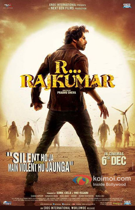 Shahid Kapoor in R… Rajkumar Movie Poster