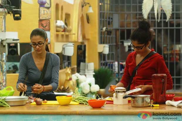 Shilpa Sakhlani And Ratan Rajput in Bigg Boss 7