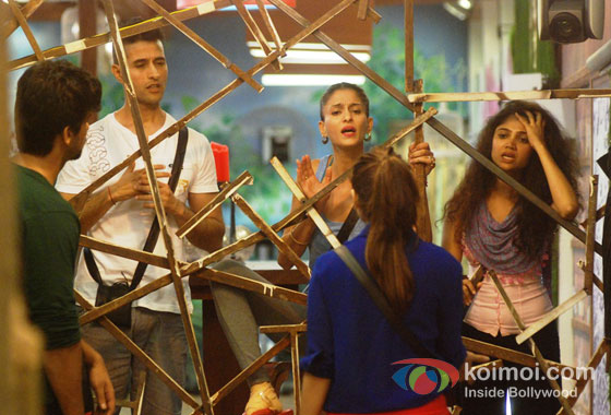 Shilpa Sakhlani, Ratan Rajput, Kushal Tandon And Tanisha Mukherjee in Bigg Boss 7