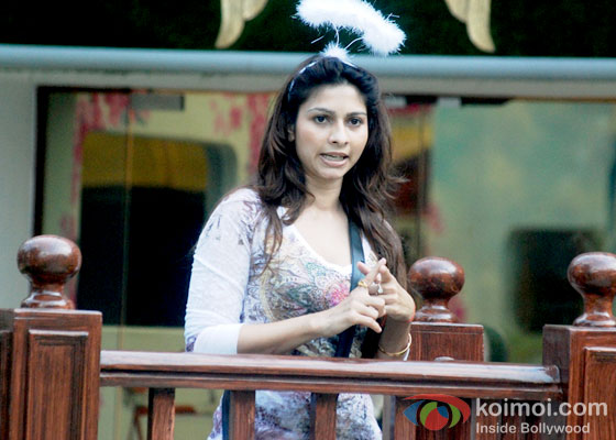 Tanisha Mukherjee in Bigg Boss 7