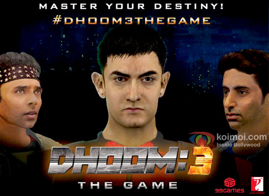 Dhoom 3 Official Game Released
