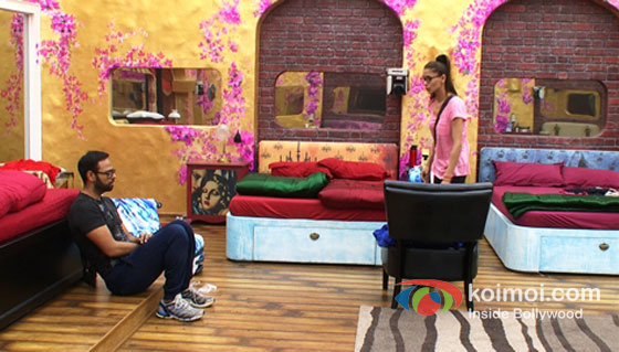 VJ Andy And Shilpa Sakhlani in Bigg Boss 7