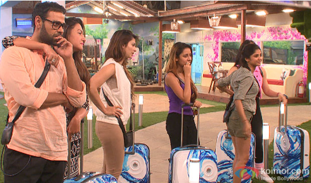 VJ Andy, Gauhar Khan, Tanisha Mukherjee, Ratan Rajput in Bigg Boss 7