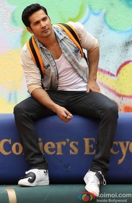 Varun Dhwan In A Still From Main Tera Hero