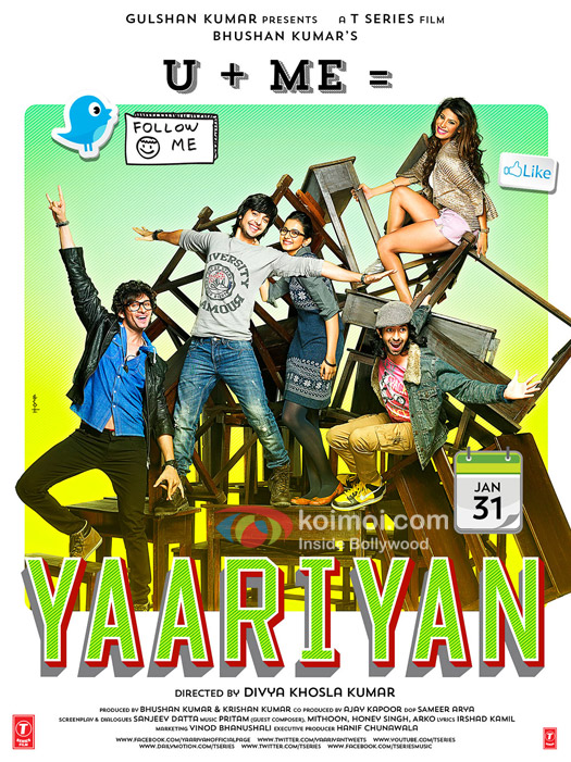 Yaariyan Movie Poster 4