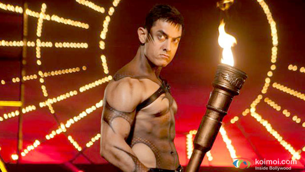 Aamir Khan in still from Dhoom 3