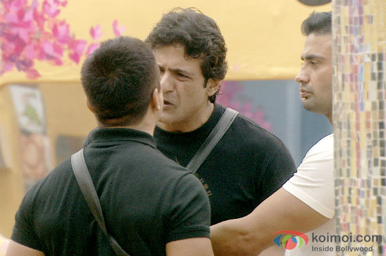 Armaan Kohli and Sangram Singh in Bigg Boss 7