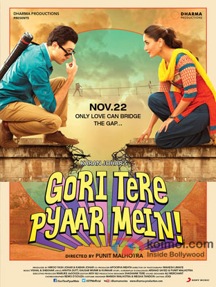 Gori Tere Pyaar Mein! Review (Gori Tere Pyaar Mein! Movie Poster)
