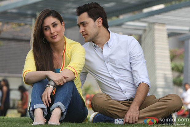 Kareena Kapoor and Imran Khan in a still from Gori Tere Pyaar Mein!