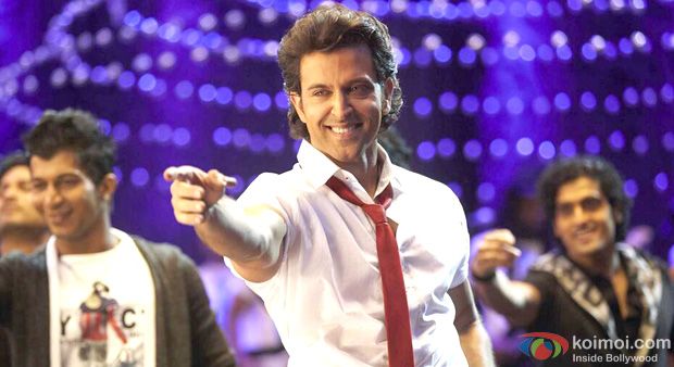 Hrithik Roshan in a still from Krrish 3