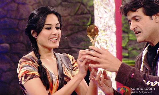 Kamya Panjabi And Armaan Kohli in Bigg Boss 7