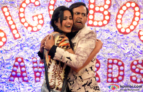 Kamya Panjabi and VJ Andy in Bigg Boss 7