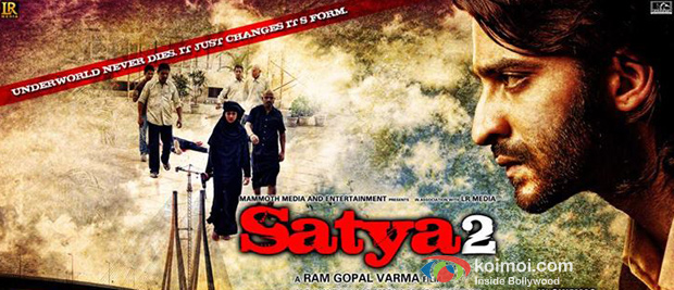 Punit Singh Ratn in a Satya 2 movie poster