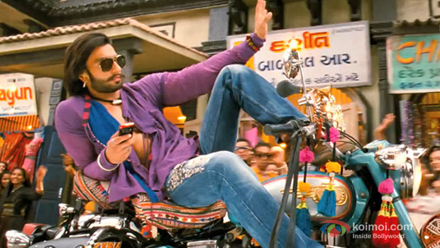 Ranveer Singh in a still from Ramleela
