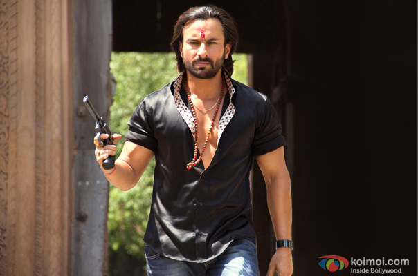 Saif Ali Khan in a still from Bullett Raja