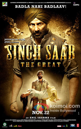 Singh Saab The Great Review (Singh Saab The Great Movie Poster)