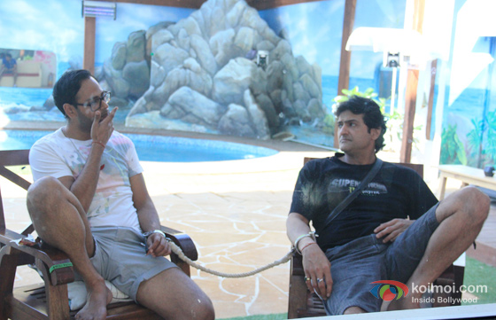 VJ Andy and Armaan Kohli in Bigg Boss 7 pic 1