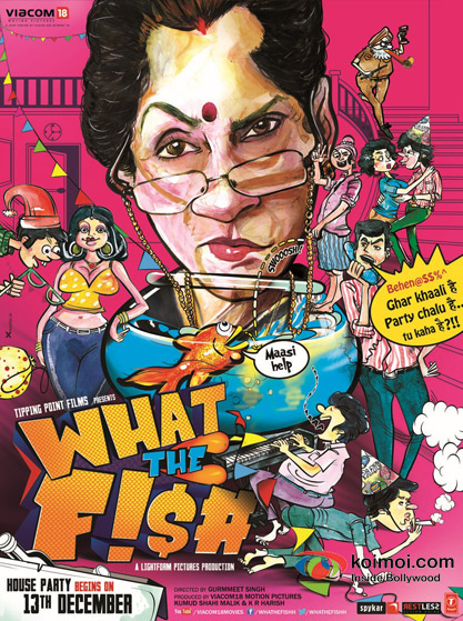 What The Fish first look movie poster
