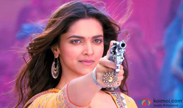 Deepika Padukone in a still from Ramleela
