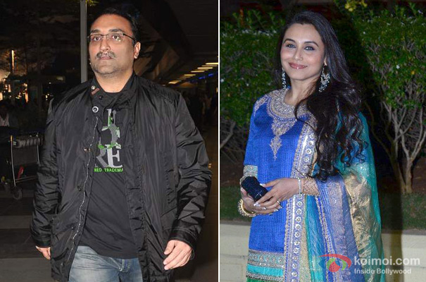 Aditya Chopra And Rani Mukerji