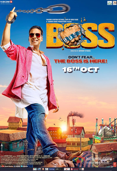 Boss Movie Poster