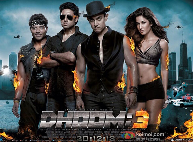 Dhoom 3 Movie Poster