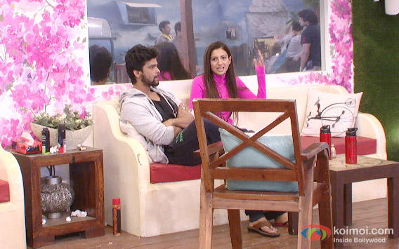 Kushal Tandon and Gauhar Khan in Bigg Boss 7 Pic 3