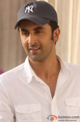 Ranbir Kapoor Looking Handsome In A White Shirt