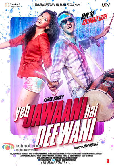 Yeh Jawaani Hai Deewani Movie Poster