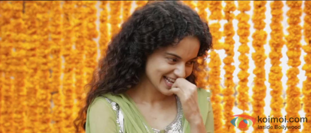 Kangana Ranaut in a still from Queen