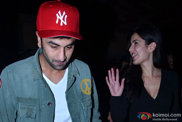 Ranbir Kapoor-Katrina Kaif Spotted Together At Movie Screening