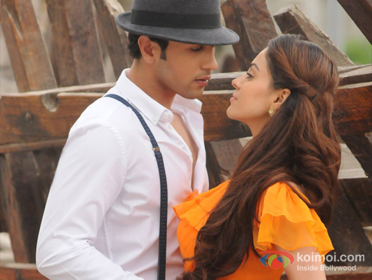Adhyayan Suman and Ariana Ayam in still from Heartless