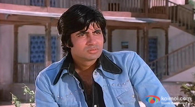 Amitabh Bachchan in a Still from Sholay 3D