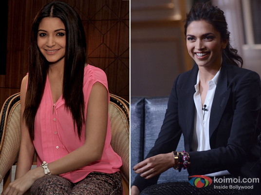 Anushka Sharma and Deepika Padukone
