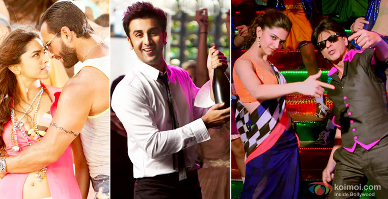 Deepika Padukone, Saif Ali Khan in Race 2, Ranbir Kapoor in Yeh Jawaani Hai Deewani and Shah Rukh Khan in Chennai Express Movie Stills