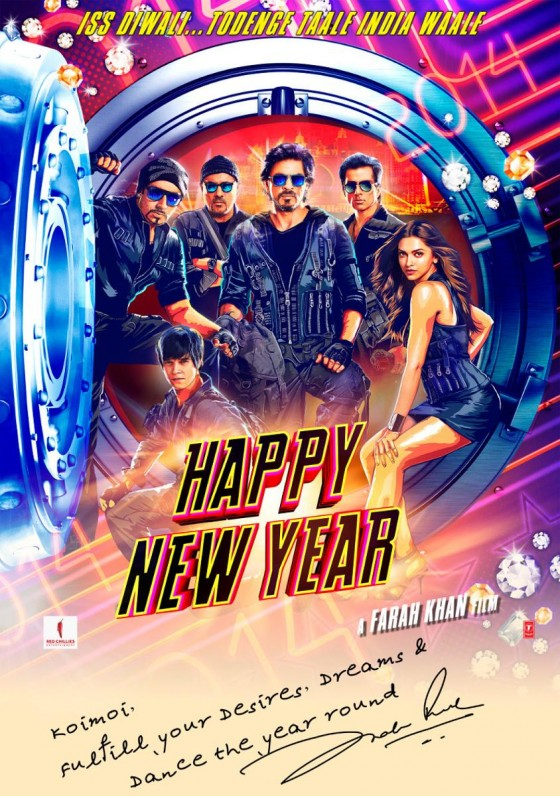 Happy New Year 1st Look Poster