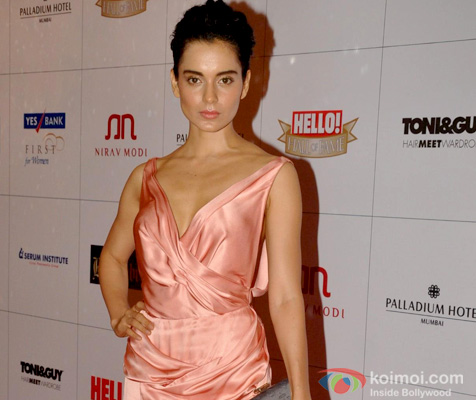 Kangana Ranaut at an event