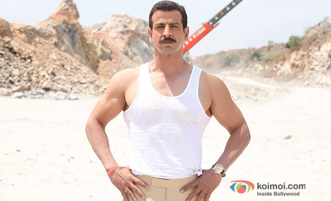 Ronit Roy in a still from Boss
