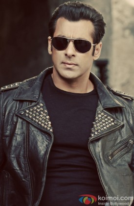 Salman Khan Showing A Killer Attitude For A Photo Shoot
