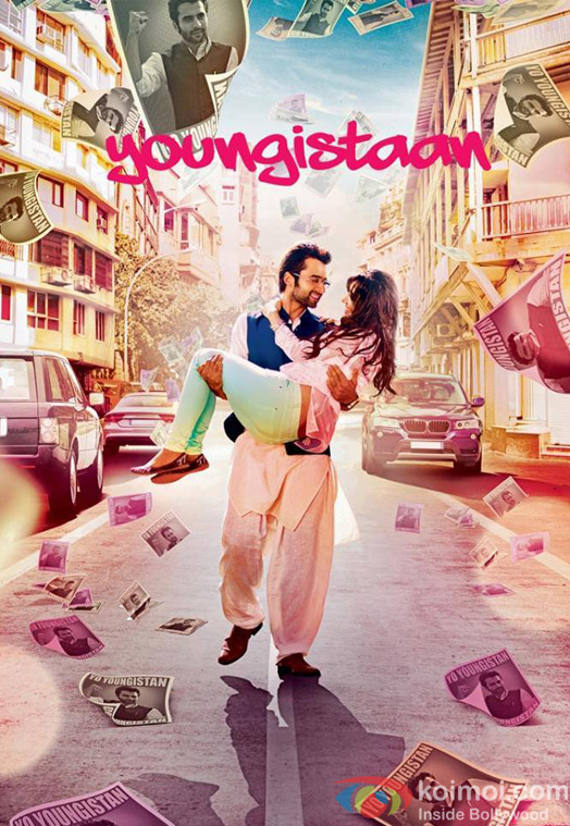 Jackky Bhagnani and Neha Sharma starrer 'Youngistaan' Movie Poster