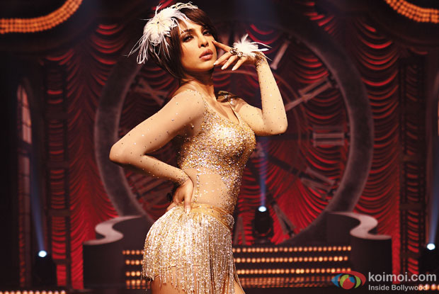 Priyanka Chopra in a 'Asalaam e Ishqum' song still from movie 'Gunday'