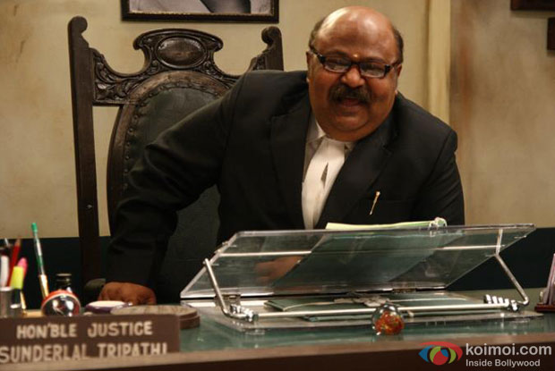 Saurabh Shukla in a still from 'Jolly LLB'